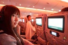 Emirats Airbus A380 Image libre de droits