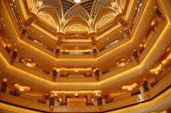 Emiratslotthotell Arkivfoto
