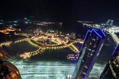 Emiratslotthotell i Abu Dhabi Royaltyfri Foto