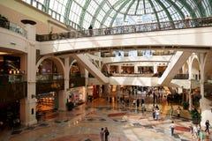 emiratu centrum handlowe fotografia royalty free