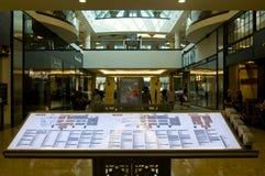 emiratu diectory centrum handlowe Fotografia Royalty Free
