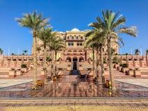 Emiratu pałac - Abu Dhabi, Zjednoczone Emiraty Arabskie Obraz Royalty Free