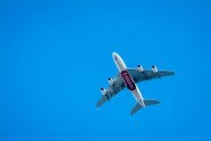 Emiratu samolot Obrazy Royalty Free