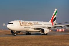 A330 emiraty Zdjęcie Stock