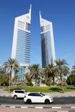 Emiraty Górują, Porsche Cayenne SUV Fotografia Royalty Free