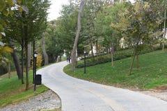 Emirgan park, Istanbuł, Turcja zdjęcia royalty free