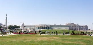 Emiri宫殿在多哈 免版税库存图片