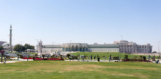 Emiri Palace in Doha Immagini Stock Libere da Diritti
