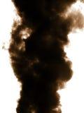 Emisión de humo en atmósfera Fotos de archivo libres de regalías