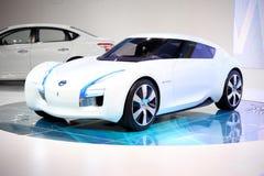 Emisión cero de Nissan Fotografía de archivo libre de regalías
