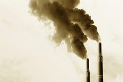 Emissie Stock Afbeelding