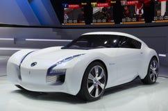 2013 Emissieloze het Concept AUTOSHOW-Nissan van GZ Stock Foto