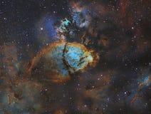 Emission Nebula Royalty Free Stock Photography