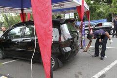 Emission test Royalty Free Stock Image
