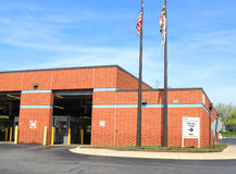 Emission Tests Site. Maryland State Government Vehicle Emission Tests Site, VEIP, Vehicle Emission Inspection Program Stock Photo