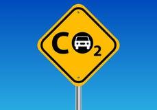 Emissioni di carbonio Fotografia Stock