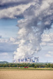 Emissions coal power plant Royalty Free Stock Photography