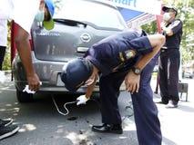 Emissions test Stock Image