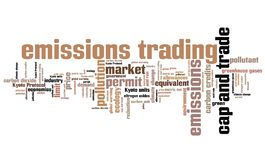 Emissions trading Royalty Free Stock Images