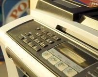 Emitindo um fax Imagens de Stock