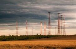 Emittente di disturbo libera della radio di Europa Fotografie Stock