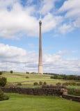 Emley attracca l'albero della televisione in West Yorkshire Fotografia Stock