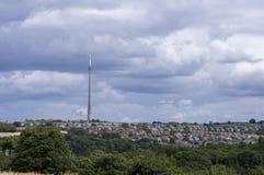 Emley Moor Mast Stock Photo