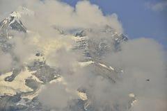 Emlisalphorn del ¼ di Blà da zona di montagna di Kandersteg Berner-Oberland switzerland Immagine Stock Libera da Diritti
