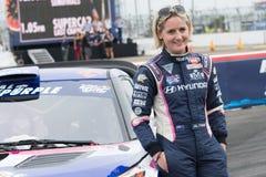 Emma Gilmour rally driver Stock Photo