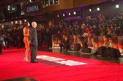 Emma Heming-Willis e Bruce Willis fotos de stock