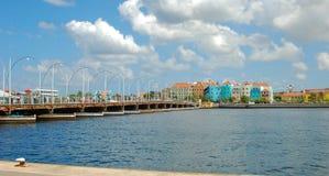 Emma most Curacao obrazy stock