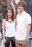 Emma Roberts e Evan Peters Foto de Stock