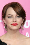 Emma Stone. On the red carpet arrivimg at the premiere of 'House Bunny' at the Mann's Village Theater in Westwood, CA on August 20, 2008 Stock Images