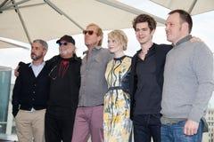 Emma Stone, Andrew Garfield και Marc Webb Στοκ φωτογραφία με δικαίωμα ελεύθερης χρήσης