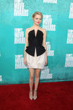 Emma Stone arriving at the 2012 MTV Movie Awards Stock Photography