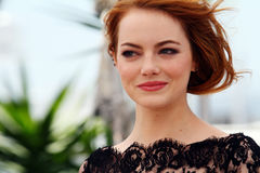 Emma Stone. Attends the 'Irrational Man' photocall during the 68th annual Cannes Film Festival on May 15, 2015 in Cannes, France Royalty Free Stock Images