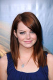 Emma Stone. At the Los Angeles Premiere of 'Pineapple Express'. Mann Village Theater, Westwood, CA. 07-31-08 Royalty Free Stock Photo