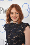 Emma Stone. SANTA MONICA, CA - FEBRUARY 21, 2015: Emma Stone at the 30th Annual Film Independent Spirit Awards on the beach in Santa Monica Royalty Free Stock Images