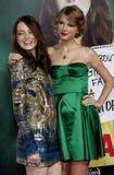 Emma Stone and Taylor Swift Royalty Free Stock Photos