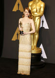 Emma Stone. At the 89th Annual Academy Awards - Press Room held at the Hollywood and Highland Center in Hollywood, USA on February 26, 2017 Royalty Free Stock Images