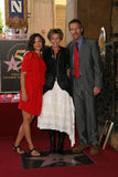 Emma Thompson,Hugh Laurie,Maggie Gyllenhaal Royalty Free Stock Photography