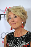 Emma Thompson. LOS ANGELES, CA - NOVEMBER 7, 2013: Emma Thompson at the premiere of her movie Saving Mr Banks, the opening movie of the AFI FEST 2013, at the TCL Royalty Free Stock Photo