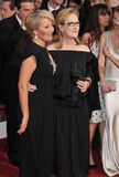 Emma Thompson & Meryl Streep Stock Photo
