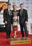 Emma Thompson & Tom Hanks & Alan Horn Stock Photos
