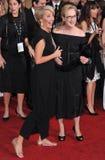 Emma Thompson y Meryl Streep fotos de archivo libres de regalías