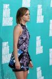 Emma Watson arriving at the 2012 MTV Movie Awards Stock Photo