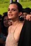 Emma Watson lackvioler royaltyfri bild