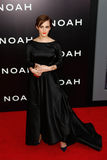 Emma Watson. NEW YORK-MAR 26: Actress Emma Watson attends the premiere of Noah at the Ziegfeld Theatre on March 26, 2014 in New York City Stock Image