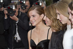 Emma Watson and Sofia Coppola Royalty Free Stock Photo