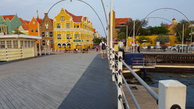 @ Emmabrug en Willemstad, Curaçao foto de archivo libre de regalías